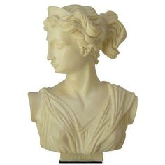 Vintage Classic Greek Goddess Bust ($95) ❤ liked on Polyvore featuring home, home decor, fillers, decor, decorative objects, vintage home decor and vintage home accessories