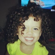 Biracial Curly Hair | mixed babies # black # blue eyes