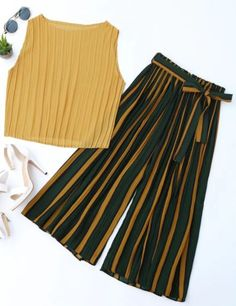 Pant and top set