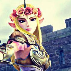 Hyrule Warriors | Flower Crown Zelda