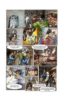 Call of Juarez comic book - Ray's story, p. 1
