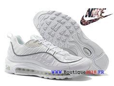 Supreme Sail Snake Nike Air Max 98 - Chaussures Nike Sportswear Pas Cher  Pour Homme Sail