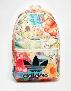 Image 1 of adidas Originals x Farm Floral Backpack