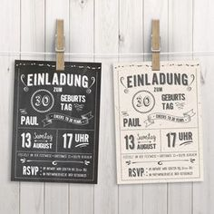 Chalkboard Design: 17 free fonts, new birthday posters and invitations in . Chalkboard design: 17 free fonts, new birthday posters and retro-style invitations Fun Wedding Invitations, Diy Invitations, Birthday Invitations, Chalkboard Text, Chalkboard Designs, Birthday Chalkboard, 30th Party, 30th Birthday, Birthday Balloons