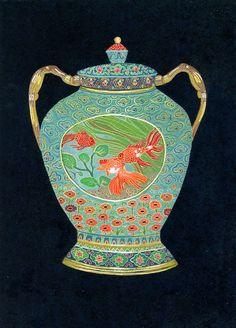 Cloisonne Vase – Becca Stadtlander
