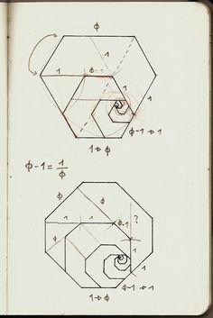 Golden Hexagon and Octogon