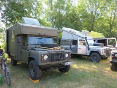 Land rover Defender camping friends-Abenteuer Allrad 2015 Germany