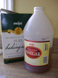 Baking Soda Shampoo 1 tbsp for every 1 cup of water Apple Cider Vinegar Conditioner 1-2 tbsp for every 1 cup of water