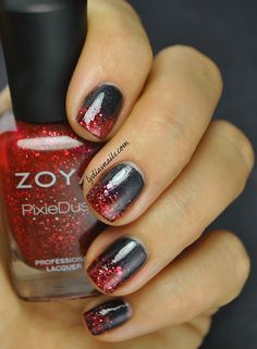 Lydia's Nails: October 2014 Zoya MatteVelvet Dovima & Zoya Pixie Dust in Oswin /top coat for shine