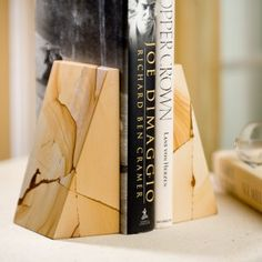 Bookends for office or nightstand