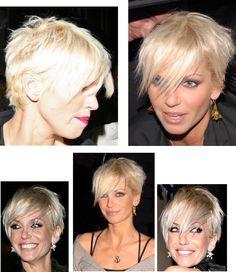 Fav short hair! Sarah Harding.