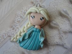 Clay Disney Frozen Queen Elsa by CraftyOliviaCuties on Etsy, $13.00