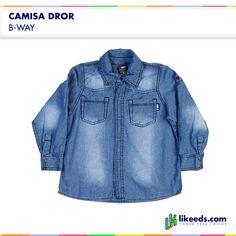 Camisa Dror de B-Way #Moda #Folk #Niños  Para ver talles y comprar ¡Hacé click en la imagen!