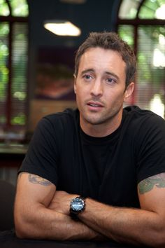 Alex O'Loughlin. Love him in Criminal Minds (as Vincent Rowlings)!