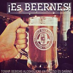 ¡Es BEERNES en Barranco Beer Company!  Craft beer, brewery-brewpub in Lima Peru.  Cerveza artesanal hecha en Barranco, Lima, Peru.