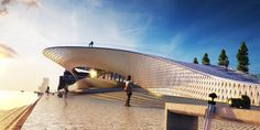 amanda levete architects: EDP cultural centre lisbon