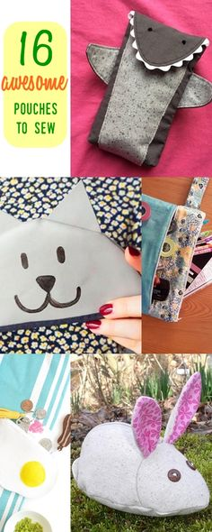 easy sew zippered pouches    pouch sewing patterns   cosmetic pouch   pencil case tutorial