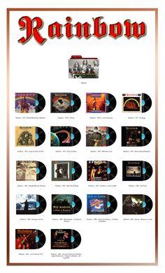 Album Art Icons: Rainbow