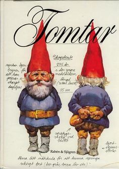 Gnomes by Wil Huygen and Rien Poortvliet- this book has awesome illustrations and stories. This inspired the David the Gnome show. Gnomes Book, Danish Christmas, Scandinavian Christmas, Culture Art, Kobold, Rabe, Thinking Day, Gnome Garden, Chiaroscuro