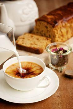 Infusión Earl Grey con leche http://ow.ly/qKrBz una buena opción #té #rooibos #ténegro