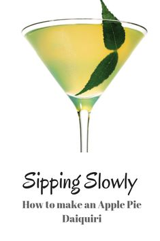 This week we show you how to make an apple pie Daiquiri. Perfect for National Daiquiri Day. So easy and delicious. We used apple pie spice infused simple syrup and the Sailor Jerry Spiced rum. Apple Pie Spice, Sailor Jerry, Spiced Rum, Daiquiri, Simple Syrup, Whisky, Spices, Easy, How To Make