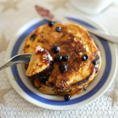 Parasta Amerikasta: Blueberry pancakes