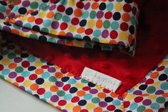 Snuggle Blanket by LukaMish - Quirky Circus $40 #baby #shower #gift