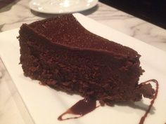 Flourless Expresso Chocolate Cake from Nick's New Haven-Style Pizzeria & Bar – Boca Raton, Florida