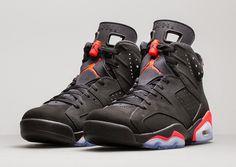 I Love Sneakers - The Sneaker Blog: Reminder : Air Jordan VI Black/Infrared 2014