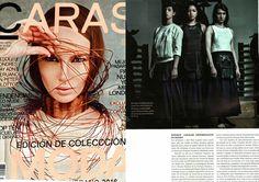 Delrieu Canales #delrieucanales  #presse #revue #mode  #carasrevista #caras @fashionpeople