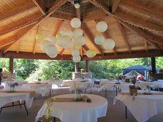 Outdoor wedding idea!