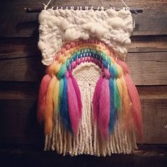 "844 Likes, 27 Comments - Amber Kokenge (@texturizeyoureyes) on Instagram: "" Merino Rainbows . . #weave #weaving #weaversofinstagram #weaver #merinowool #weaverfever #woven…"""