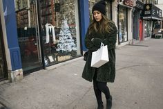 A slideshow of New York street style plus a cozy playlist.