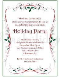 Find Lots Of Personal And Business Holiday Christmas Party Invites