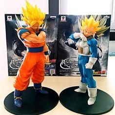 Dragon Ball Z Action Figures Resolution Of Soldiers Vol.2 Son Gokou Vegeta Figure Toys ROS Son Goku Vegeta Figuras DBZ Vegeta