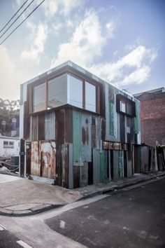 'Tinshed' the humble tin shed an iconic Australian Sctructure. By Raffaello Rosselli
