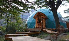 Patagonia Eco Domes, El Chaltén, provincia de Santa Cruz, Argentina | Abr 2016