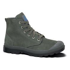 32a43484f4 Palladium Boots: Pampa Hi Lea Gusset Waterproof. Charcoal Palladium Pampa  Hi, Palladium Boots