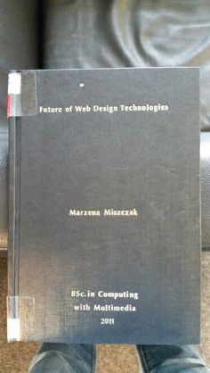 Future of Web Design technologies Research, Third, Web Design, Exercise, Technology, Future, Learning, Books, Excercise