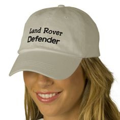 Land Rover Defender Personalized Adjustable Hat