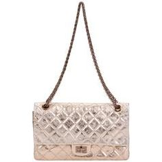 Chanel Gold Reissue Maxi Double Flap