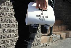 La #Distributrice #CoffeeOn-The-Go #Packaging #Design