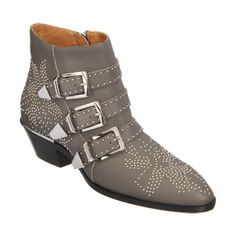 Chloé Susan Studded Ankle Boot at Barneys.com