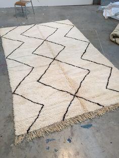 Beni Ourain rug 310 x 195 cm