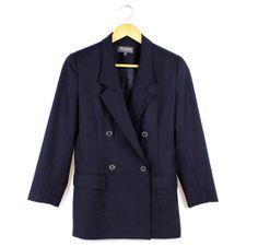 Vintage Perri Cutten woolen navy double breasted by FannyAdamsVC, $35.00