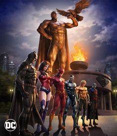 Justice League Death Of Superman Justice League Comics, Arte Dc Comics, Dc Comics Superheroes, Marvel Comics, Super Heroes Comics, Wolverine Comics, Death Of Superman, Superman Art, Dc Animated Series