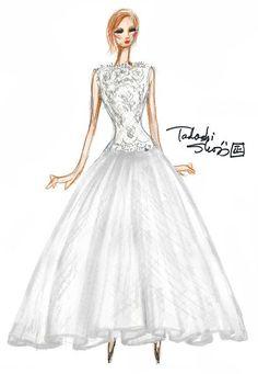 Tadashi Shoji, Spring 2013 Collection. Click through to see the designer's inspiration.
