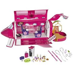 Barbie Glam Vacation Jet Plane Playset