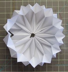 UnBound: A Paper Art Blog - Joan Michaesl Paque structure modified by Gina...pretty cool.