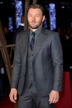 Joel Edgerton Wears Dolce & Gabbana to Exodus Gods and Kings World Premiere